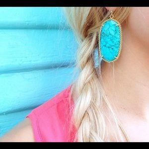 Turquoise Deily Kendra Scott